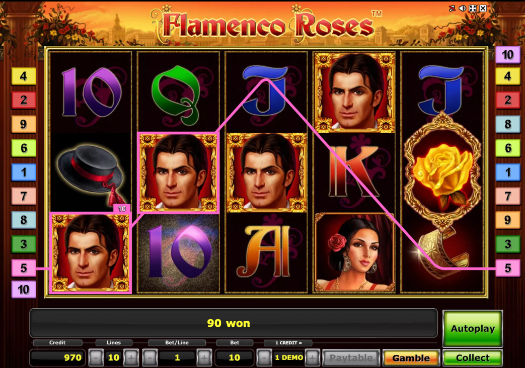 Image Flamenco Roses