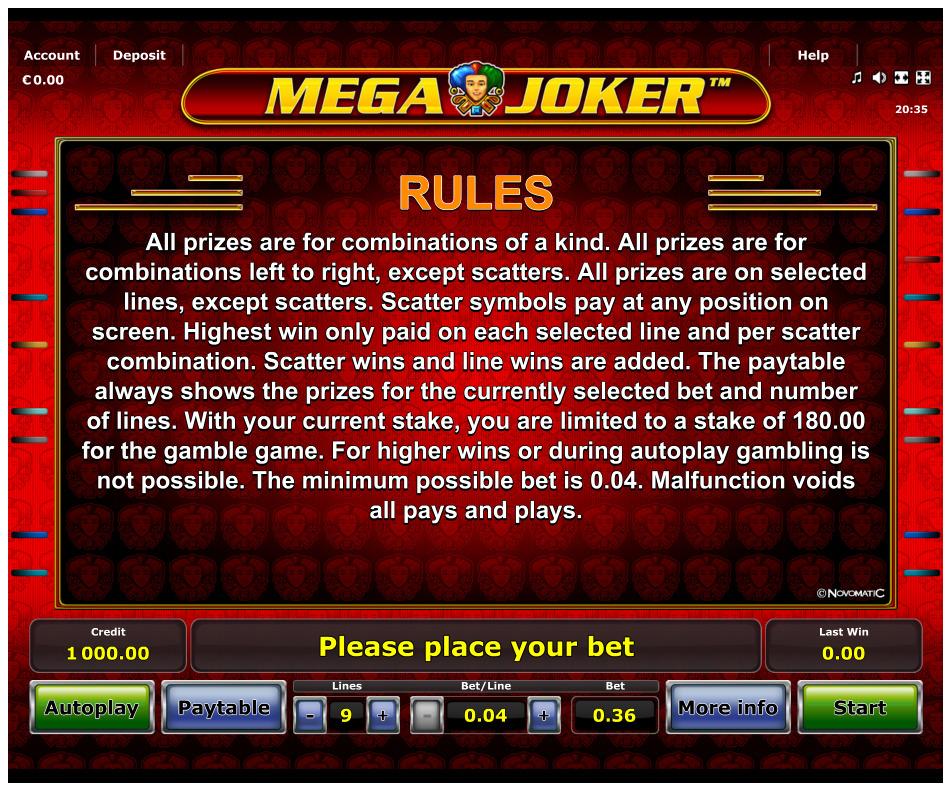 Image Mega Joker